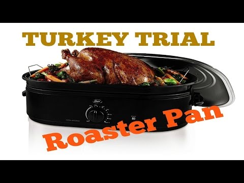 Oster Roaster Oven - Turkey review and trial.