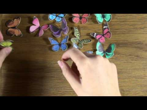 How to use Butterfly Cake Toppers - Tutorial