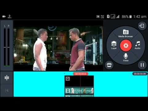 DHOOM 3 DOUBLE ROLE SCENE MAKING TUTORIAL PART 1