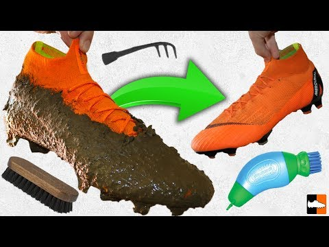 How To Clean Your Boots! Ultimate ⚽ Cleaning Hacks!