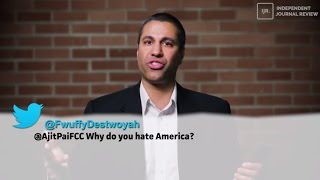Ajit Pai Reads Mean Tweets, Destroys Net Neutrality