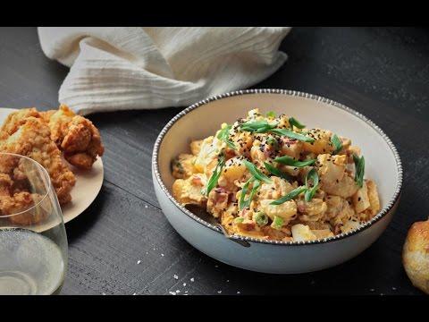 Kimchi Potato Salad Recipe