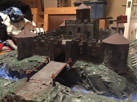 Model Medieval Castle - Chevys Creative Workshop