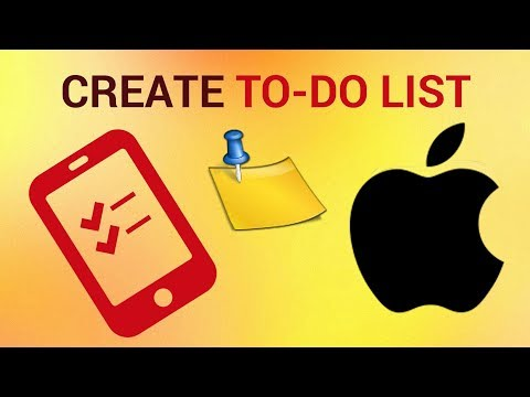 How to create to-do list on iPhone and iPad