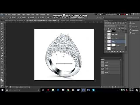 How to retouch 3D jewelry and Excellent jewelry Retouching tutorial Photoshop CS6
