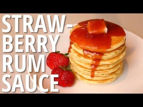 Strawberry Rum Sauce