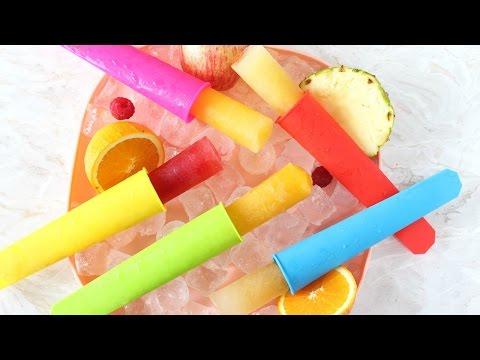Fruit Juice Ice Pops For Kids - Healthy Summer Snack