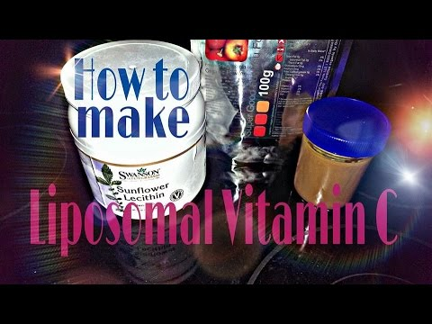 How To Make Liposomal Vitamin C *EASY RECIPE*