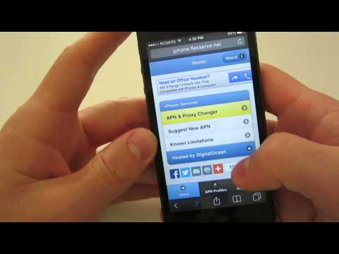 How To: Get Data Working for Petro Canada Mobility on the iPhone
