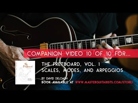 Part 10 of 10: Tutorial for THE FRETBOARD, VOL 1. by David DeLoach