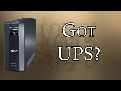 Why you need a UPS (Uninterruptible Power Supply)