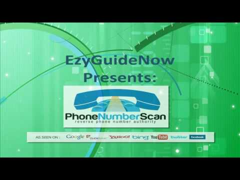Phone Number Scan | Find out the owner of any cell phone