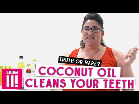 Coconut Oil Cleans Your Teeth: Truth Or Mare?