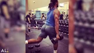 Najee Harris spring break workouts