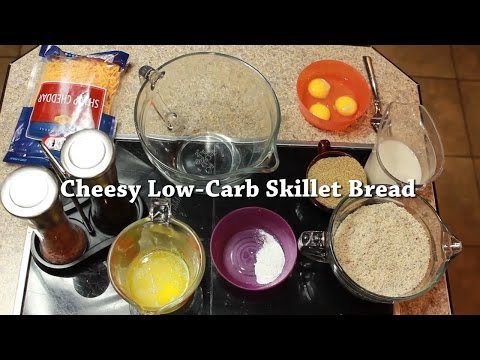 Low-Carb Cheesy Bread (THM S)
