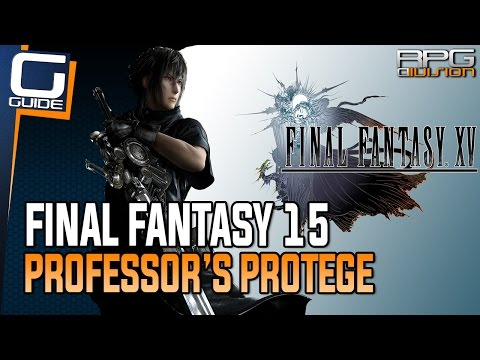 Final Fantasy 15 Guide - Catch 5 Red Frogs (Professor's Protege Quest Walkthrough)