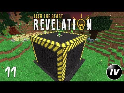 FTB Revelation - Ep 11 - Blazing Tinker Tool Leveling