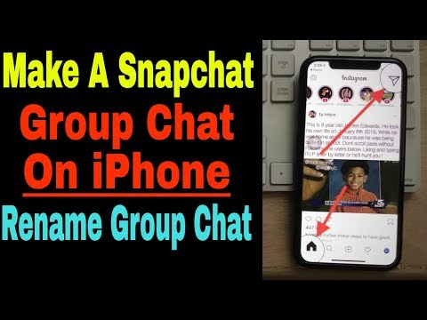 Make Group Chat on instagram iPhone & Rename Instagram Group Name on iPhone XS Max/XS/XR/X/8/7, App