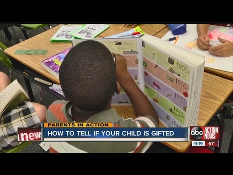 Parents in Action: How to tell if your child is gifted