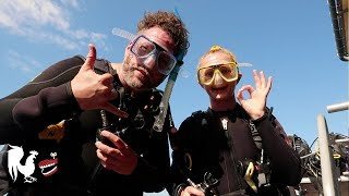 Burnie Vlog: Scuba Diving at the Great Barrier Reef | Rooster Teeth