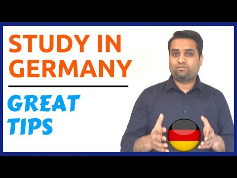 Study in Germany || Important Tips For Success