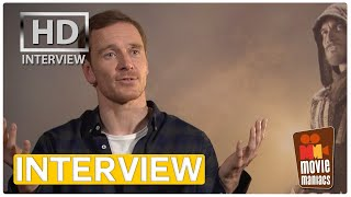 Assassins Creed - Michael Fassbender on playing the game (Interview)