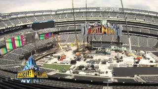 Creating the WrestleMania 29 set: WWE.com Exclusive, April 7, 2013