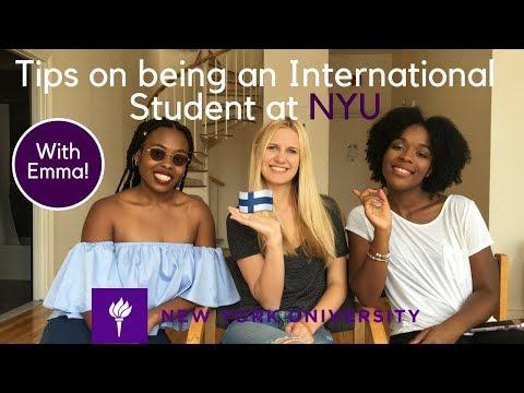 NYU | Surviving NYU as an International Student with Emma!!