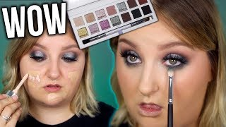 A TUTORIAL?!? PLAYING WITH A NEW EYESHADOW PALETTE