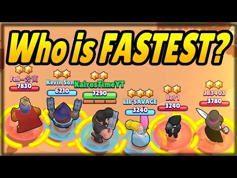 Which Brawler would WIN a RACE?! | Every Brawler's Speed With & Without Abilities! | Speed Breakdown