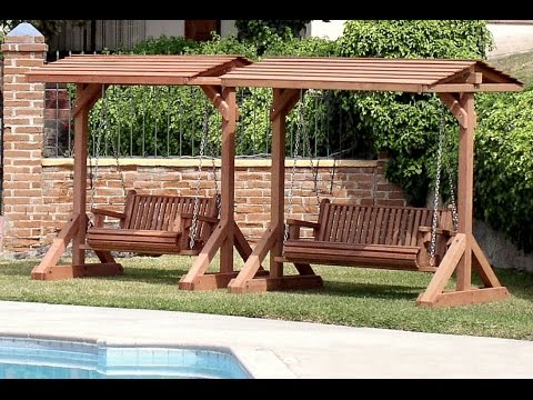 Garden Swing Bench | Garden Swing Bench Plans