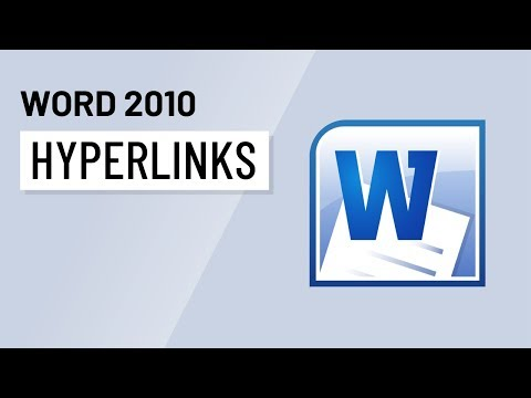 Word 2010: Hyperlinks