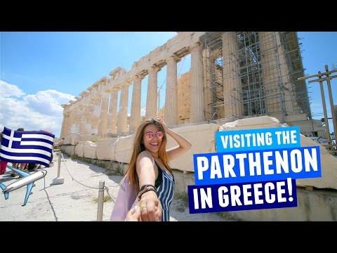 VISITING THE PARTHENON IN GREECE 2017 | Athens Day 2!