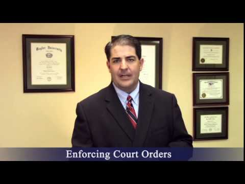 Divorce Attorney Brownsville Texas - Enforcing Court Orders