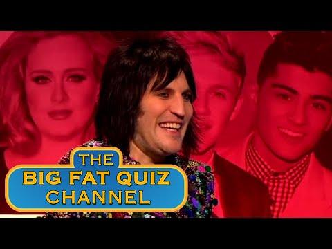 Noel Channels The Correct Answer   Big Fat Quiz Anniversary 2015
