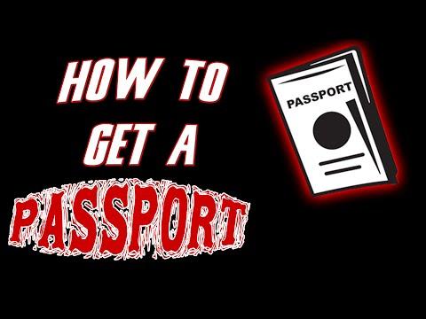 DIY   How To Get A Passport
