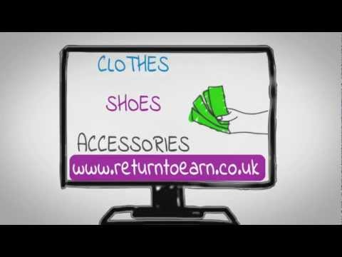 Cash for clothes with Return to Earn