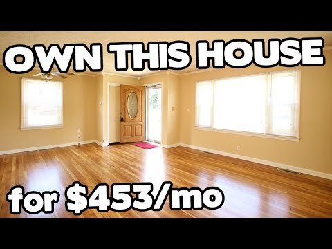 Own this home for under $500/mo - Danville Kentucky House for sale