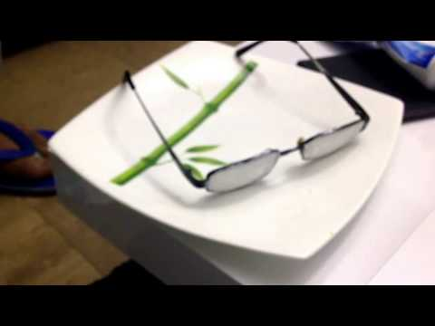 How to remove scratches from eye glasses. Easiest way