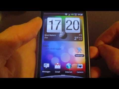 HTC Desire Mobile Data Hints and Tips when Roaming