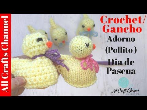 Como tejer un adorno para huevos de dia de pascuas