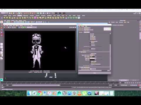 How to Render Wireframe in Maya