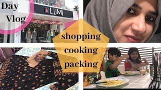 Day Vlog I Shopping I Cooking I Packing - TasteTours by Shabna hasker