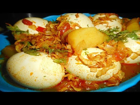 Sukat Anda (Mini prawns curry with eggs) Recipe