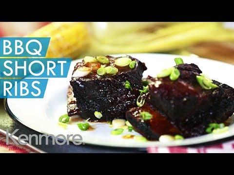 Slow Cooker BBQ Short Ribs Recipe | Kenmore Slow Cooker Recipes