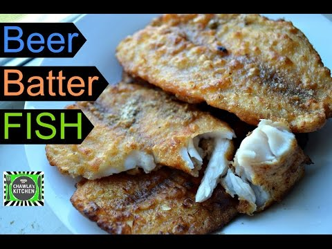 Beer Batter fish | Crispy yummy Fish Fry | instant easy Beer battered fish recipe by CK Epsd. 331