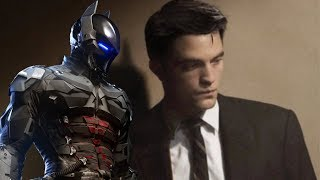 THE BATMAN Movie's New Bruce Wayne is Robert Pattinson?