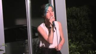 """Nicol Manenti in """"Dimmi Come"""" ospite d'onore del concorso """"VOCI SUL LAGO"""" a Predore il 15/07/15"""