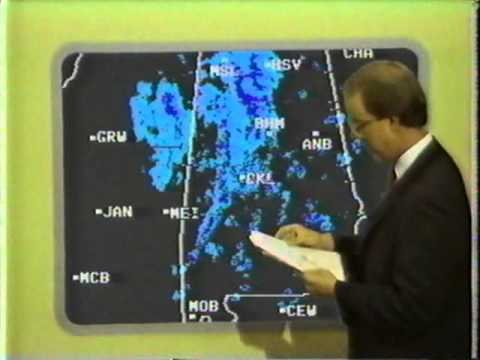 Hurricane Danny Tornado Outbreak -TWC - 8/16/85