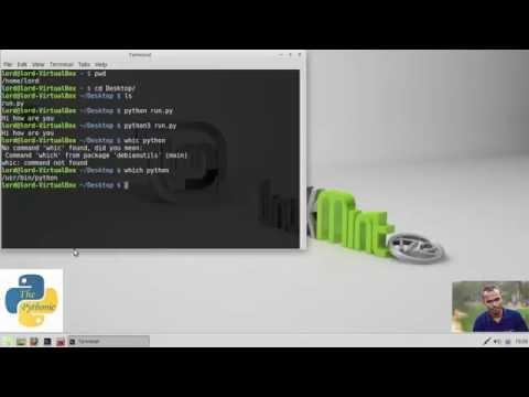 পাইথন স্ক্রিপ্ট লিনাক্স এ রান করানো - Run Python Script in Linux, Bangla Tutorial